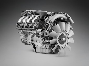 Scania pushes on with V8 engine efficiency