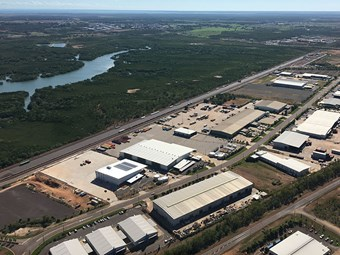 Linfox hails its Darwin Intermodal Facility