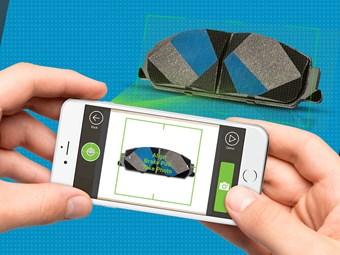 Bendix upgrades brake pad recognition app