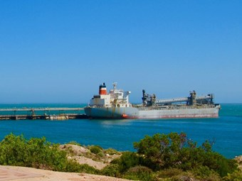 Iluka feels transport pinch at blocked Thevenard