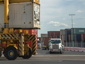 Victorian container trucking and logistics under fire