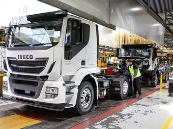 Iveco to assemble Stralis AT here
