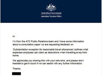 ATA carpets ATO over driver travel expenses