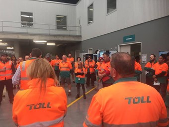 Toll eyes negotiated solution to bargaining agreement