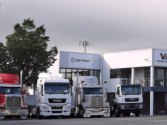 Record July for truck market