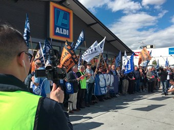 TWU gives Aldi the Coles treatment on rates