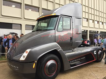Cummins offers glimpse of electric heavy duty future
