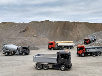 Scania in new generation construction truck launch