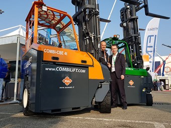 Combilift spruiks attributes of new electric forklift