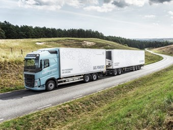 Volvo trucks to run on LNG