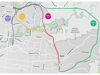 Vic chooses shortest North East Link option