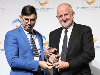 Toll warehouse wins national energy efficiency award