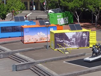 ANMM, NSW Ports celebrate history and use of shipping containers