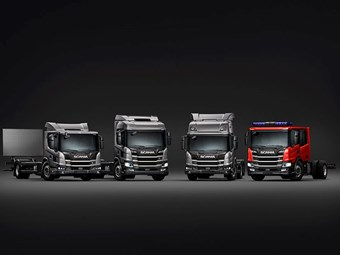 Scania unveils new range of city trucks