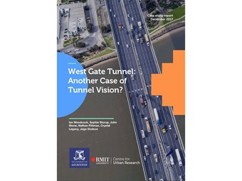 New study recommends rolling back West Gate Tunnel project