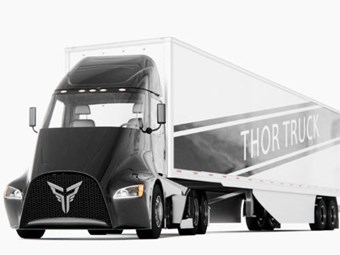Thor makes its pitch to the electric truck market