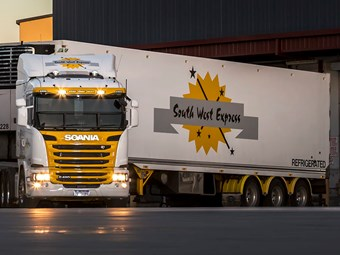 Scania celebrates record year down under