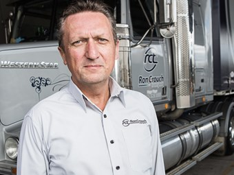 Crouch aims logic at truck safety debate