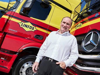Linfox gains first Euro 6 Benz prime movers