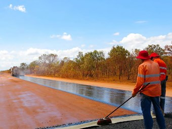 Upgrades begin on outback South Australia roads