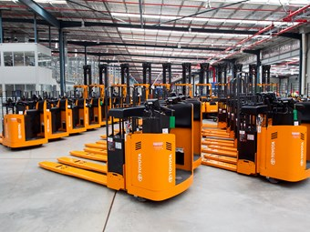 Toyota revels in local forklift sales success
