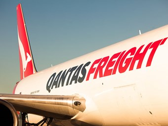 Steady performance in freight for Qantas