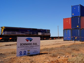 Bowmans Rail bullish on Port Augusta facility opening