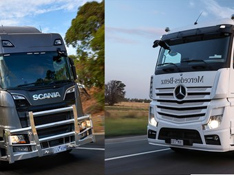 Clash of the Continentals: Scania vs Benz | News