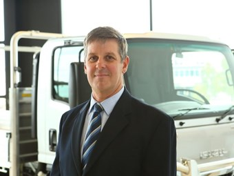 Goodall takes on Isuzu sales role