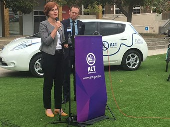ACT launches plan for zero emissions fleet