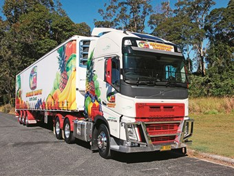 Fresh approach for Gibbins Refrigerated Transport