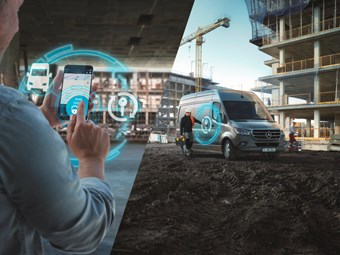 Mercedes debuts van telematics packages