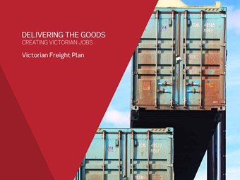 Victoria unveils freight plan to tackle impediments