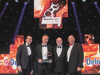 MAN TGX wins UK award