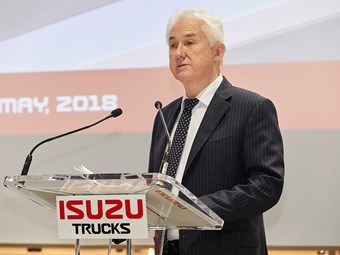 Isuzu boss encourages infrastructure cooperation plan