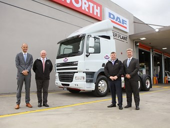 Australian-made DAF hits the road