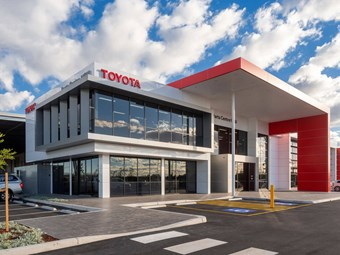 Toyota towards zero-emission warehousing
