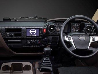 Hino teases buyers with early look at 500 interior