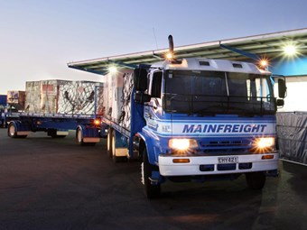 Mainfreight posts first-half profit rise