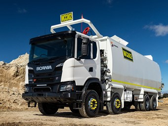 Scania XT new kid on the job at Pilbara mines