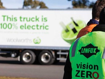 Linfox outlines EV plans, Queensland intermodal strategy