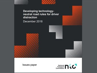 NTC probes driver distraction and road rules