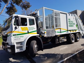 Trash talking: electric waste trucks