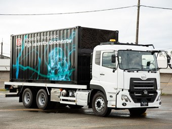 UD unveils heavy-duty truck automation
