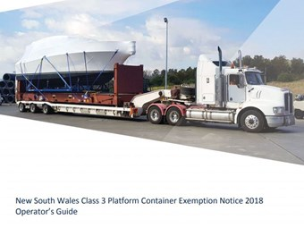 Platform container exemption for NSW