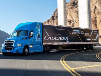 Advanced Freightliner features to arrive here next year