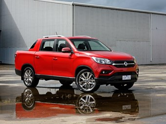 SsangYong Musso: Back in the game