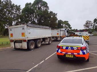 Police and RMS put bite into dodgy truck and dog combos | News