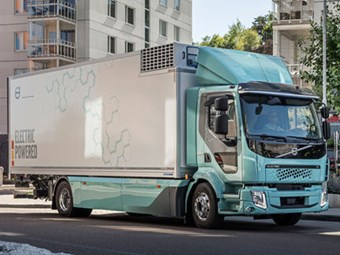 Volvo delivers first all-electric trucks