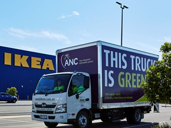 ANC unveils IKEA electric vehicle fleet